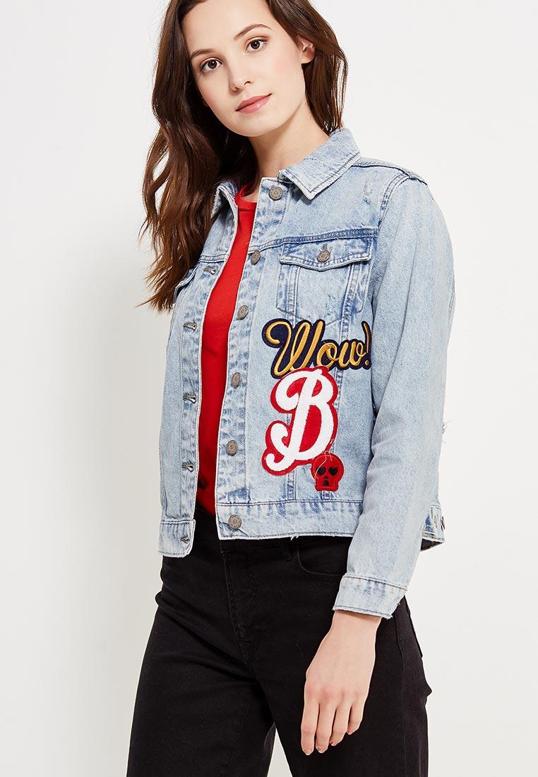 Джинсовая куртка Jennyfer (Дженнифер) DEH17VROOME