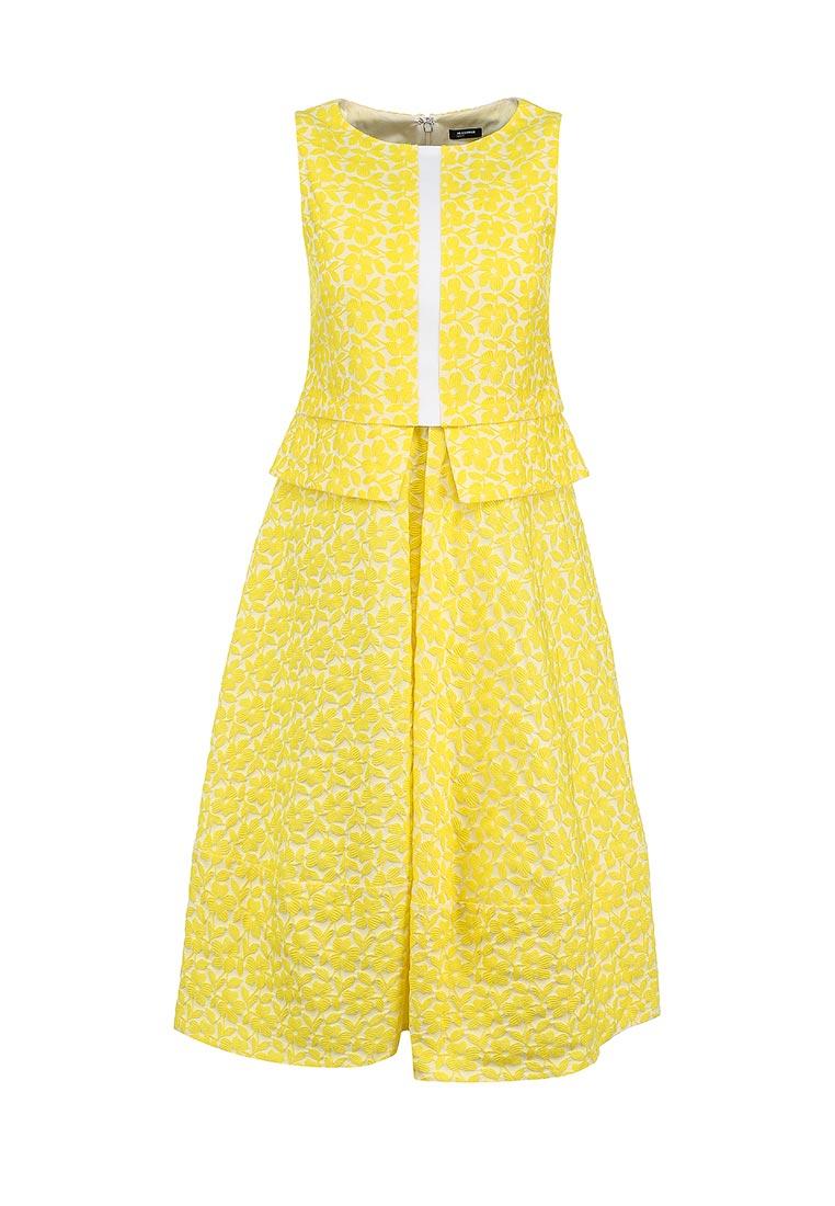 Повседневное платье Jil Sander Navy JDE436BJE062A