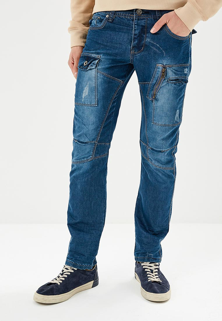 Зауженные джинсы Justboy B008-D988