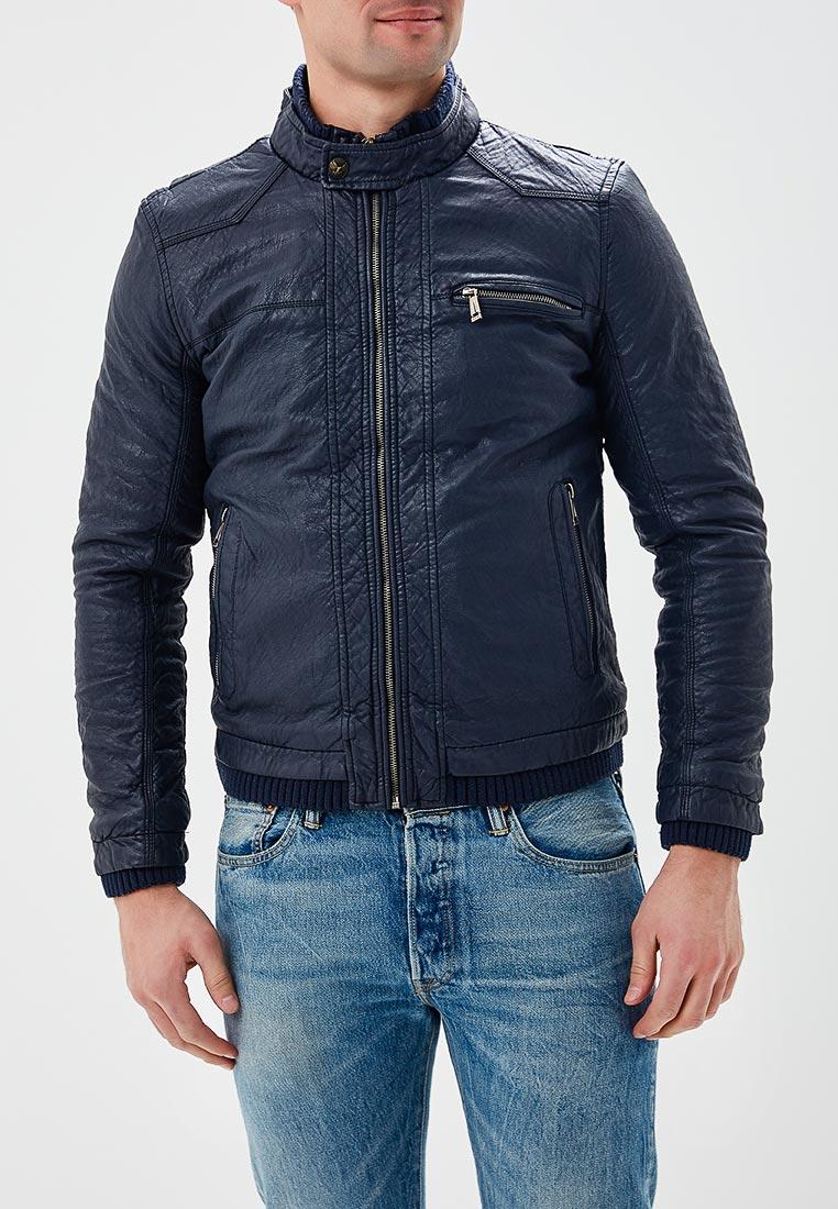 Кожаная куртка Justboy B008-N337