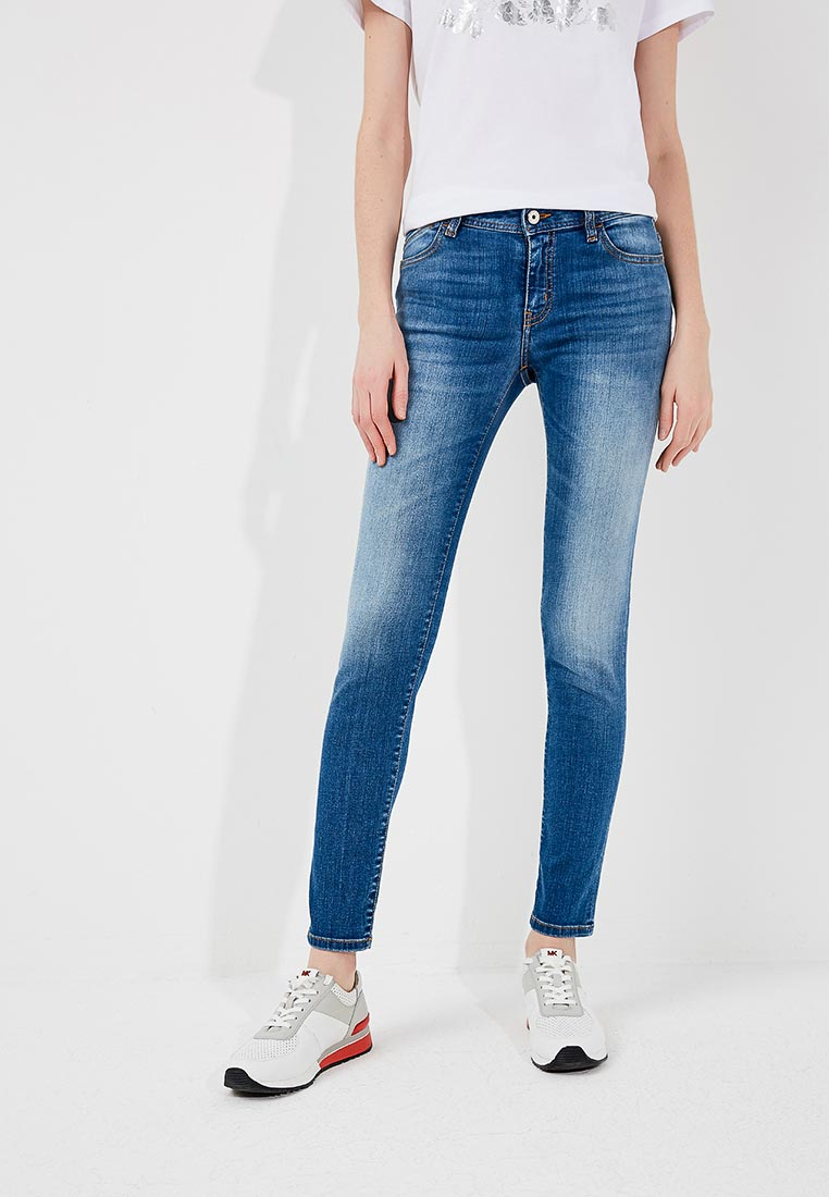 Зауженные джинсы Just Cavalli S02LA0129