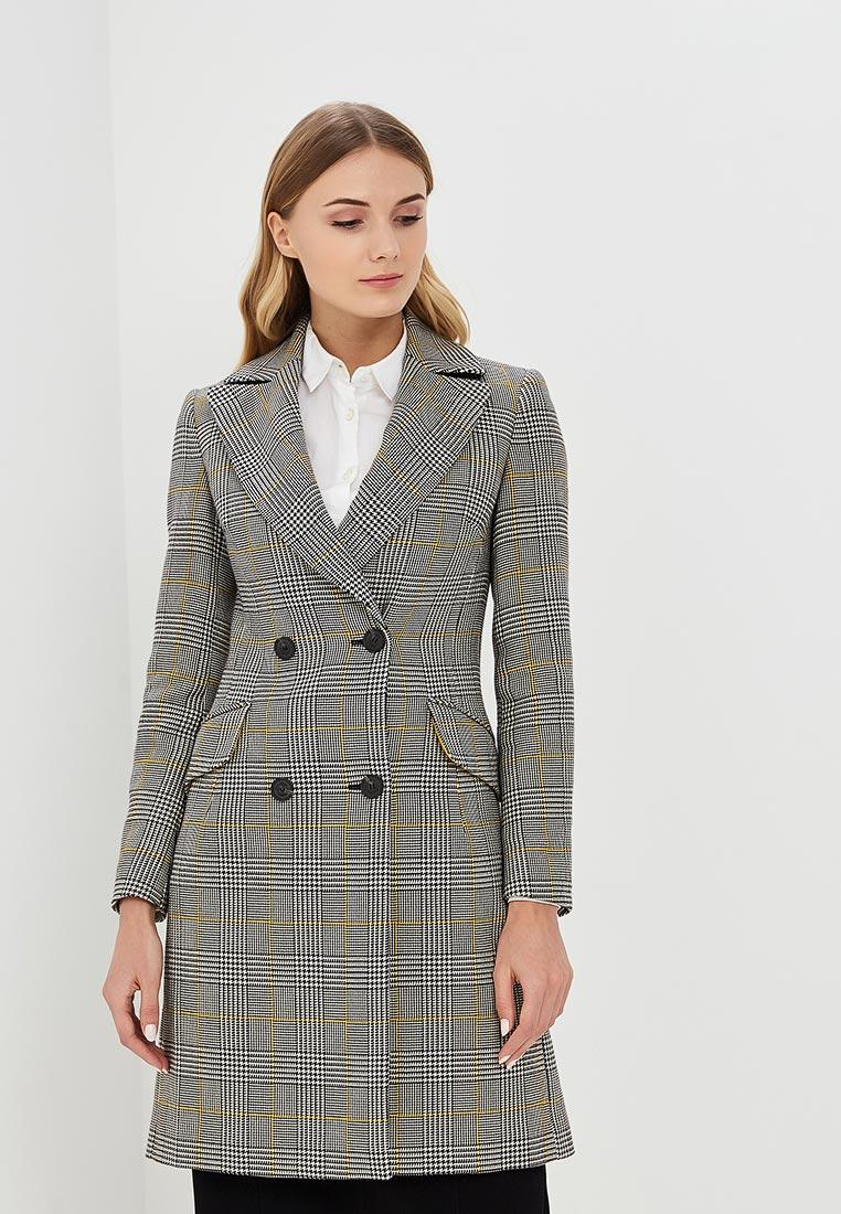 Женские пальто Karen Millen (Карен Миллен) CC007_BLACWH_SS18