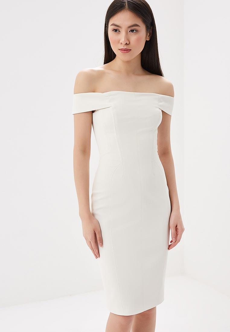Платье Karen Millen (Карен Миллен) DC034_IVORY_SS18