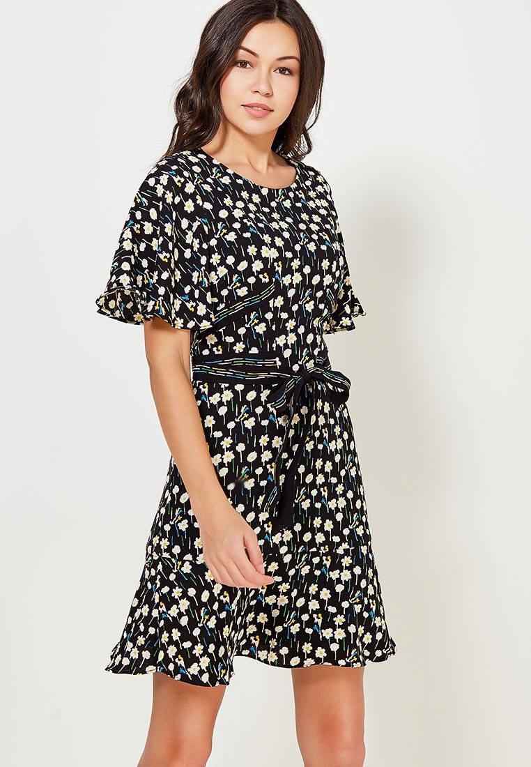 Платье Karen Millen (Карен Миллен) DC043_BLAMUL_SS18