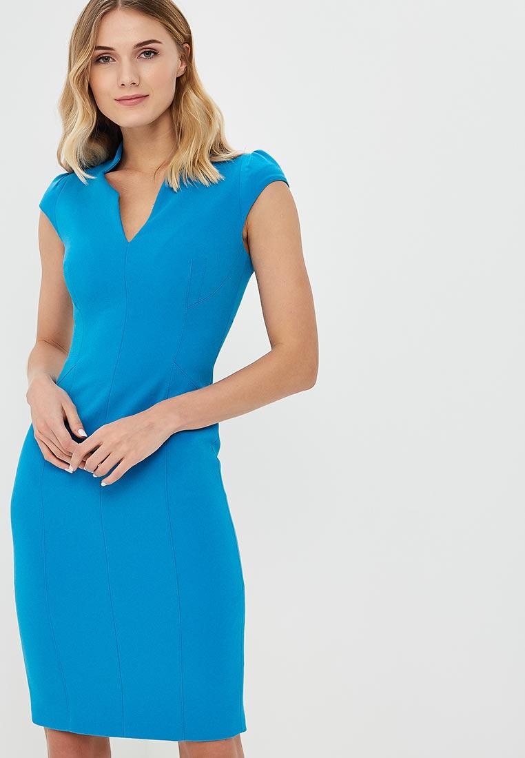 Платье Karen Millen (Карен Миллен) DC212_BLUE_SS18