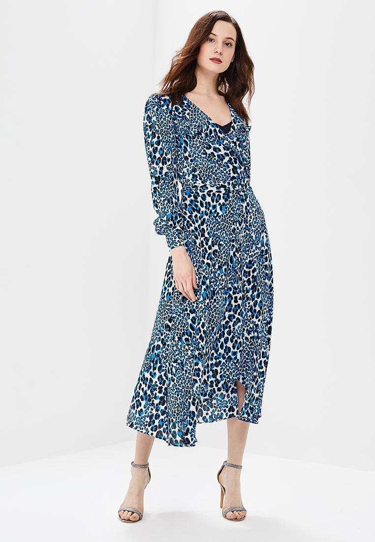 Платье Karen Millen (Карен Миллен) DC057_BLUMUL_SS18
