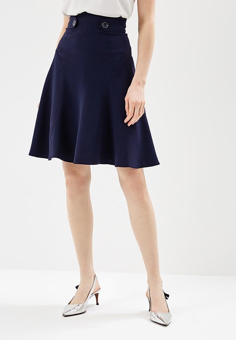 Широкая юбка Karen Millen (Карен Миллен) SC008_DARBLU_SS18