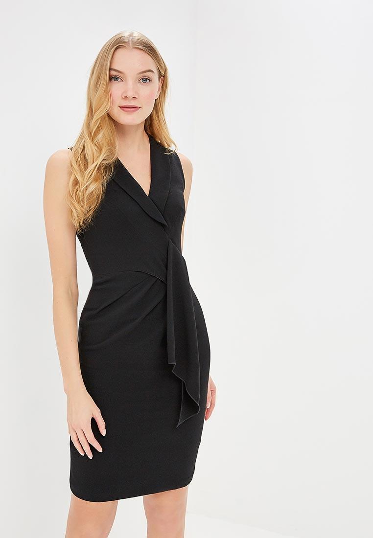 Платье Karen Millen (Карен Миллен) DC140_BLACK_SS18