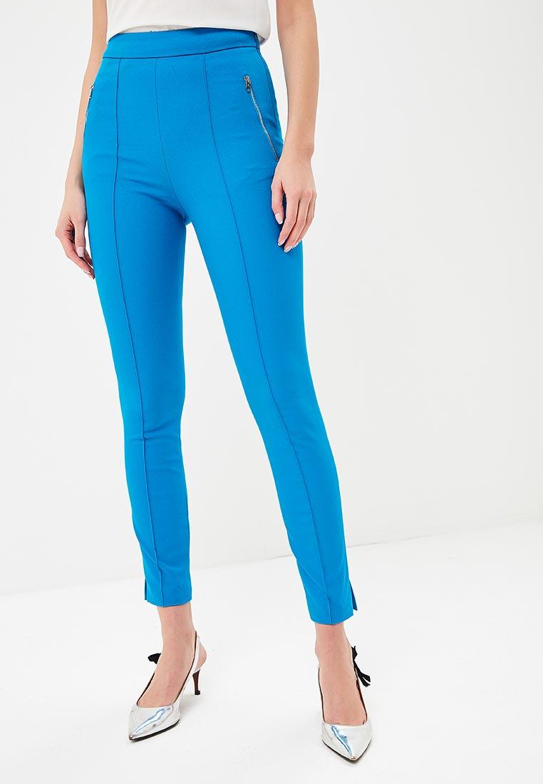 Женские зауженные брюки Karen Millen (Карен Миллен) PC011_BLUE_SS18
