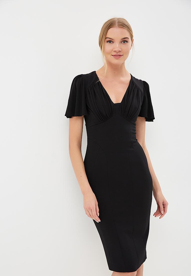 Платье Karen Millen (Карен Миллен) DC030_BLACK_SS18