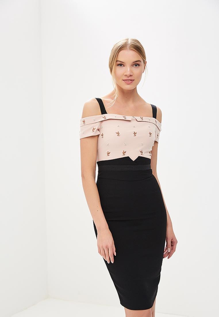 Вечернее / коктейльное платье Karen Millen (Карен Миллен) DC066_BLAMUL_SS18