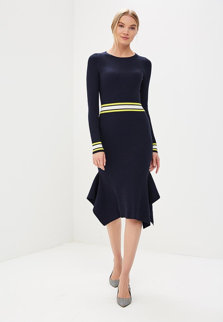 Платье Karen Millen (Карен Миллен) KC102_BLUMUL_SS18