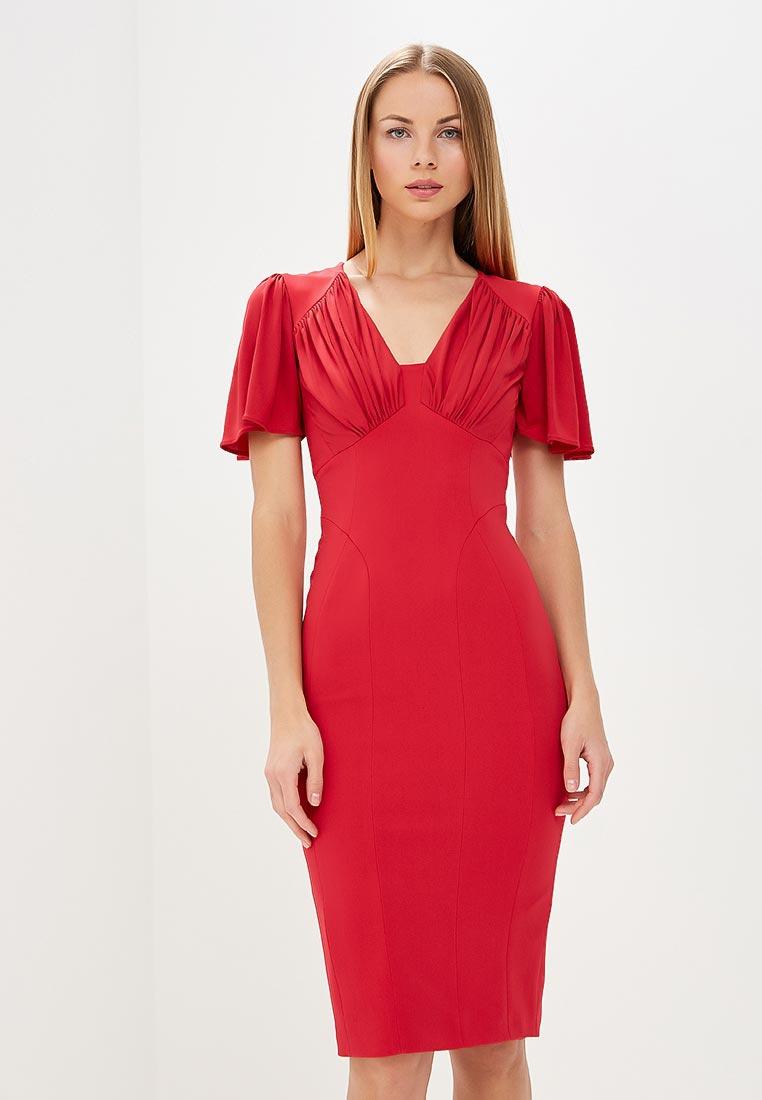 Платье Karen Millen (Карен Миллен) DC030_PINK_SS18