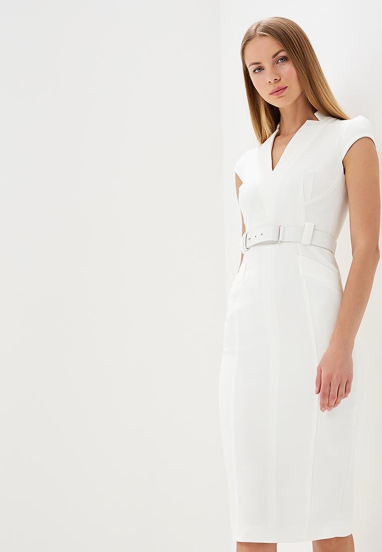 Вечернее / коктейльное платье Karen Millen (Карен Миллен) DC272_IVORY_SS18