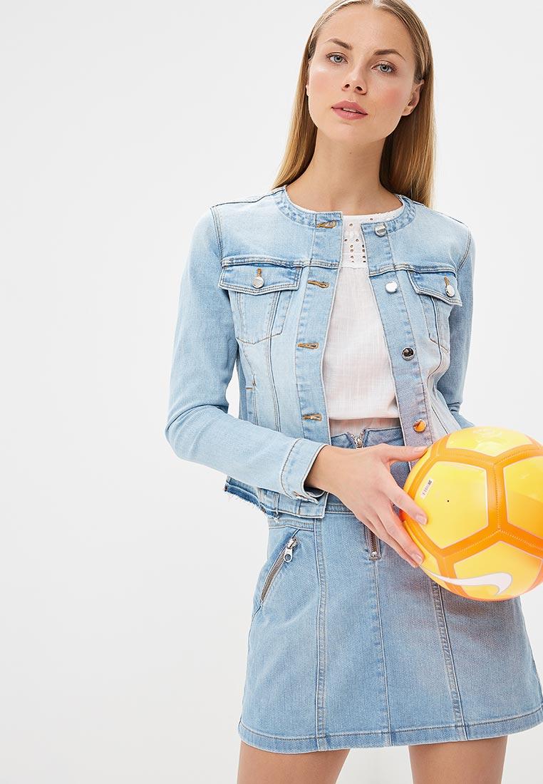 Джинсовая куртка Karen Millen (Карен Миллен) JC022_DENIM_SS18