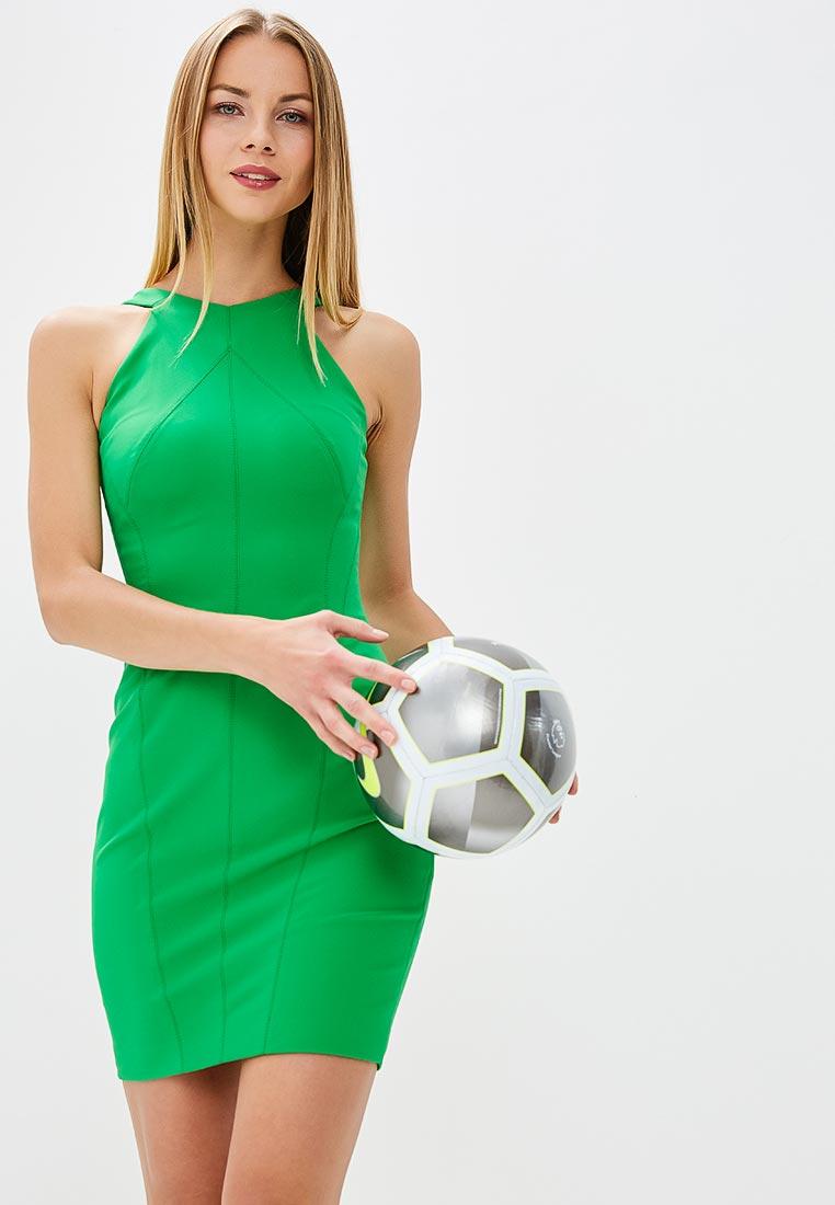 Платье Karen Millen (Карен Миллен) DC142_GREEN_SS18