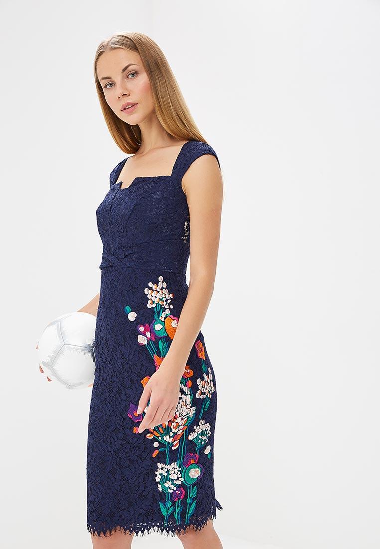 Вечернее / коктейльное платье Karen Millen (Карен Миллен) DC267_BLUMUL_SS18