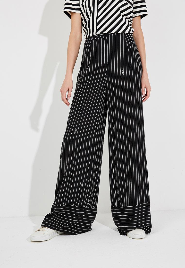 Женские широкие и расклешенные брюки Karl Lagerfeld 85KW1000