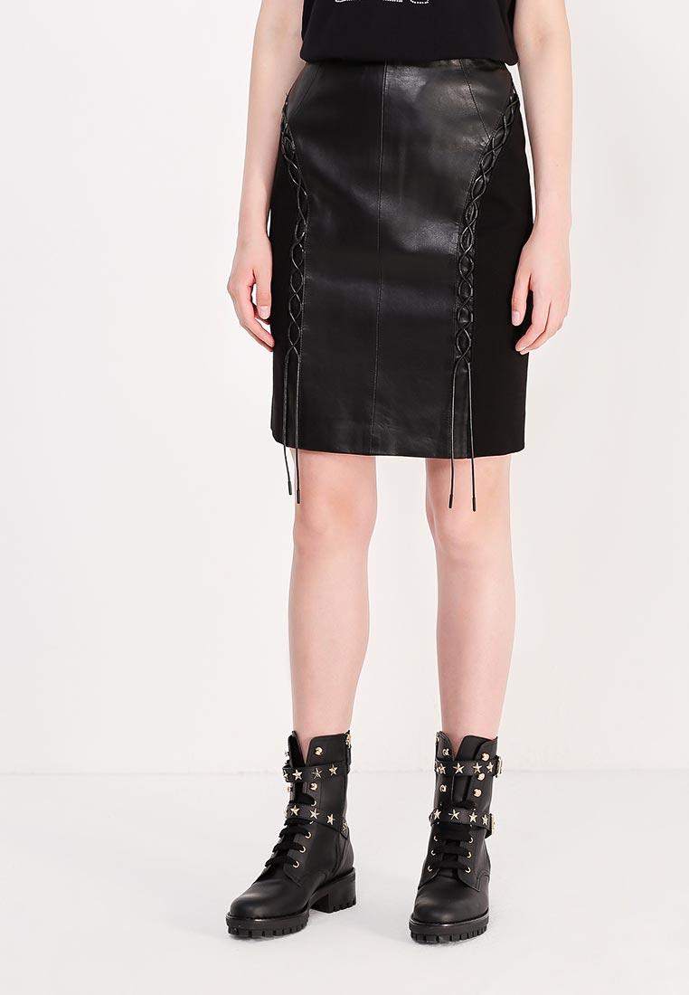 Мини-юбка Karl Lagerfeld 76KW1906