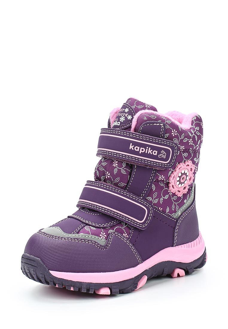 Ботинки для девочек Kapika 41180-3