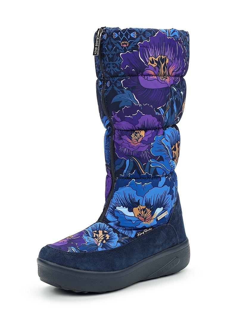 Женские дутики King Boots KB544BL