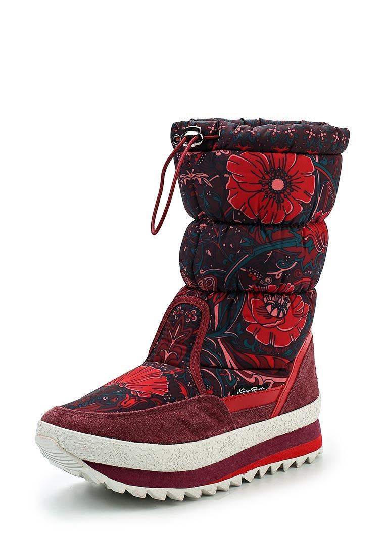 Женские дутики King Boots KB583RT