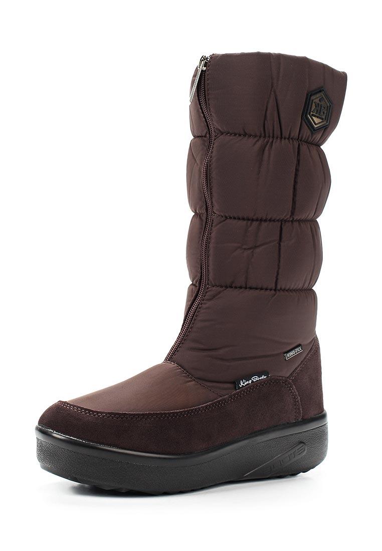 Женские дутики King Boots KB581BR