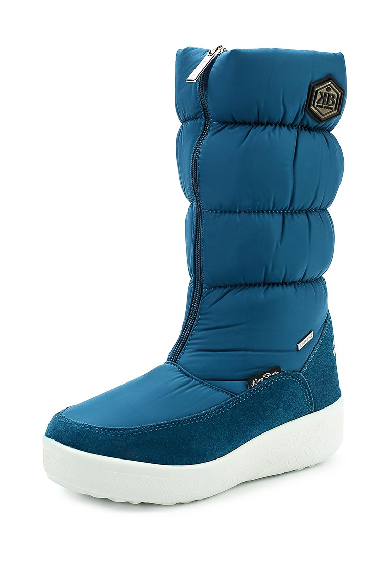 Женские дутики King Boots (Кинг Бутс) KB581BL