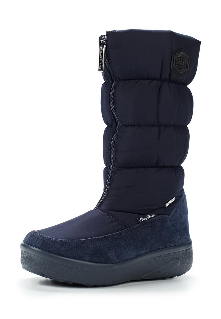 Женские дутики King Boots KB581DBL
