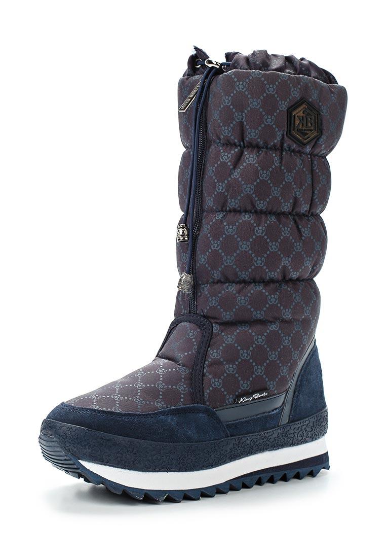 Женские дутики King Boots KB587BL