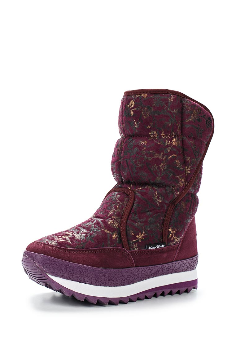 Женские дутики King Boots KB588VI