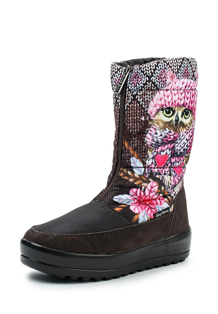 Женские дутики King Boots KB518EL