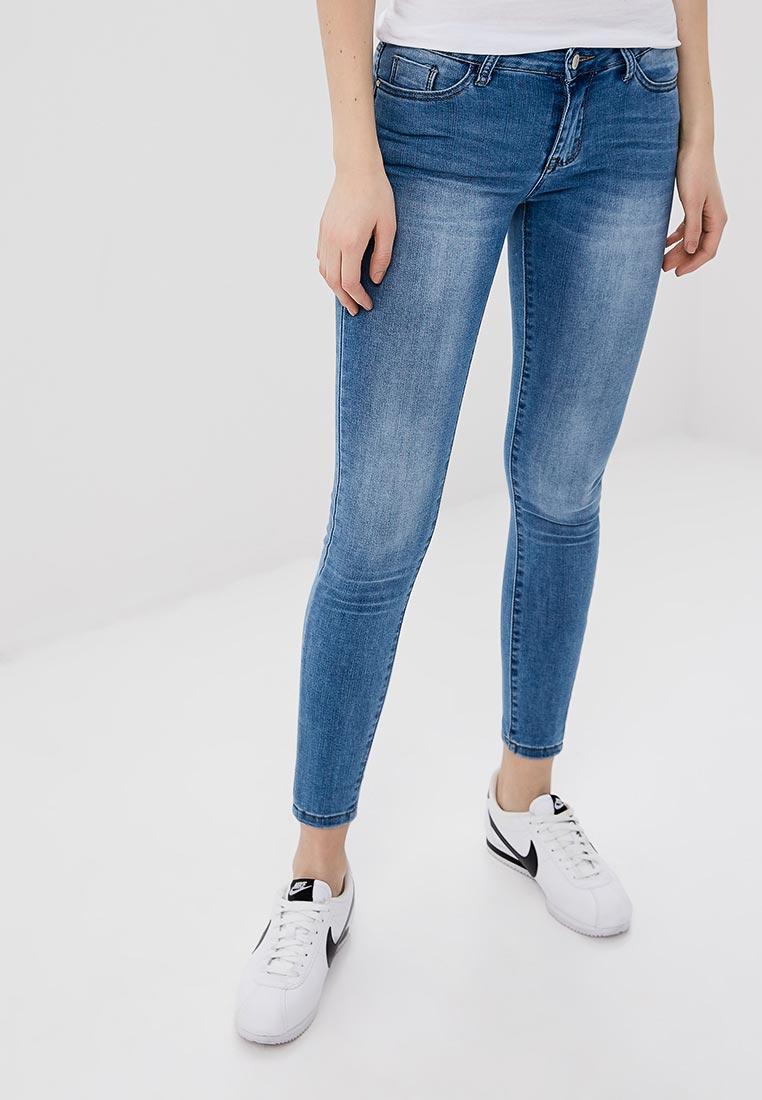 Зауженные джинсы Kiss Pink B002-AF002