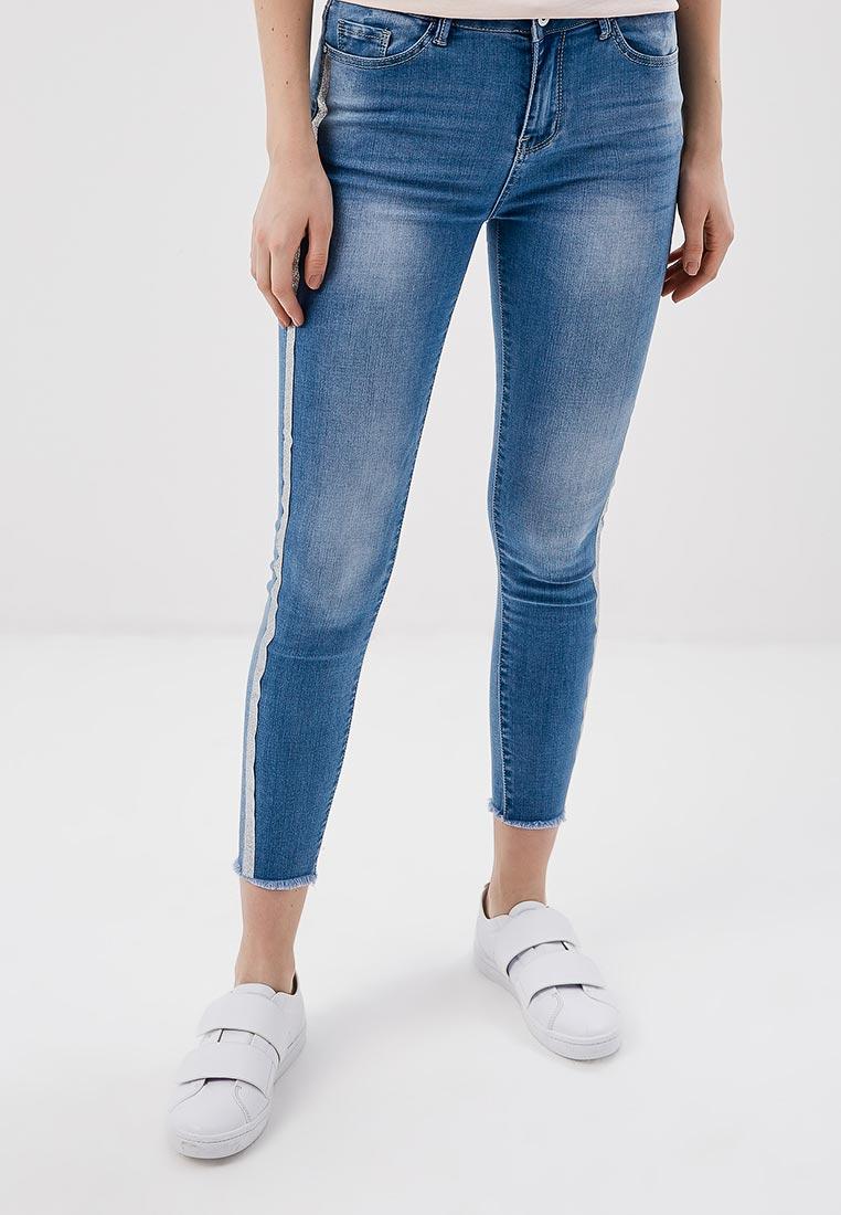 Зауженные джинсы Kiss Pink B002-AF010