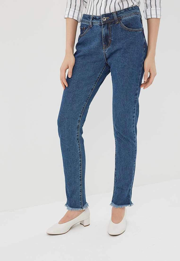 Зауженные джинсы Kiss Pink B002-AF126