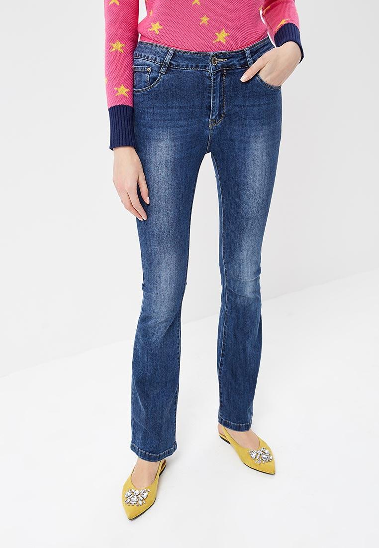 Широкие и расклешенные джинсы Kiss Pink B002-BH6849