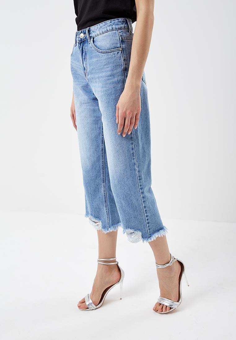 Прямые джинсы Kiss Pink B002-BH6876