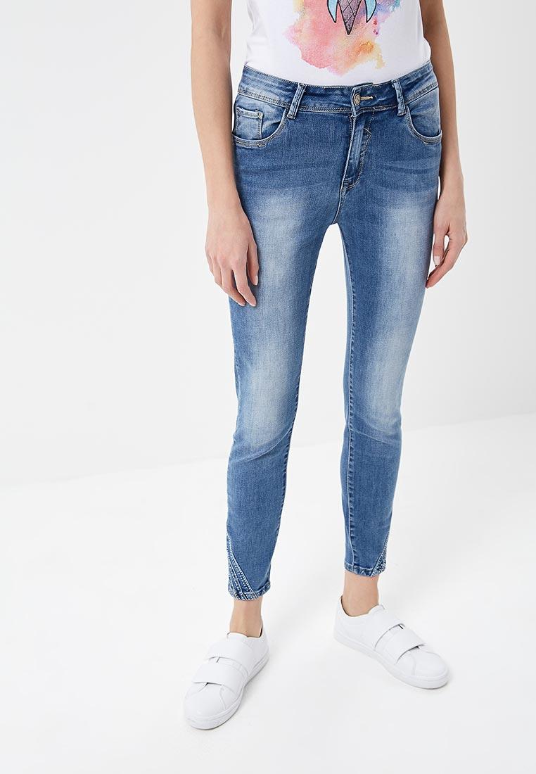 Зауженные джинсы Kiss Pink B002-BH6880