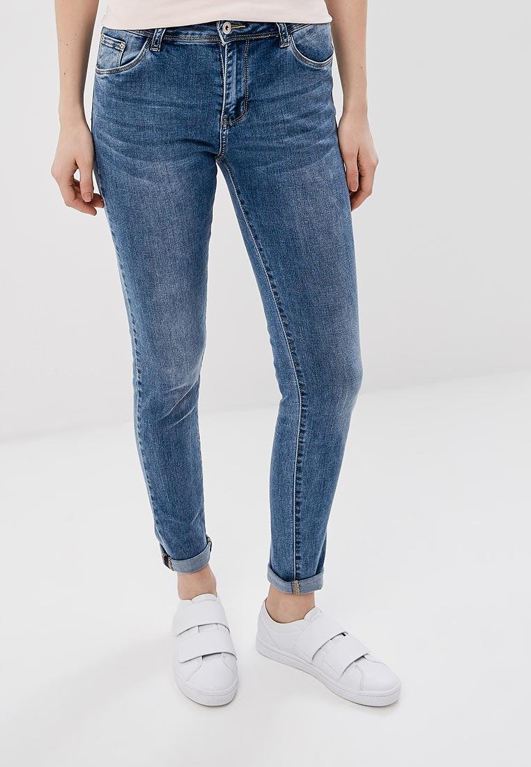 Зауженные джинсы Kiss Pink B002-BH6899