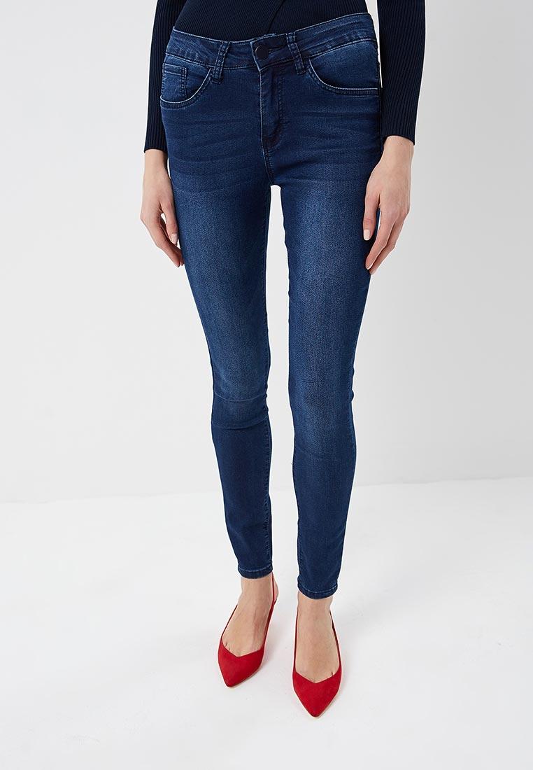 Зауженные джинсы Kiss Pink B002-F029-2