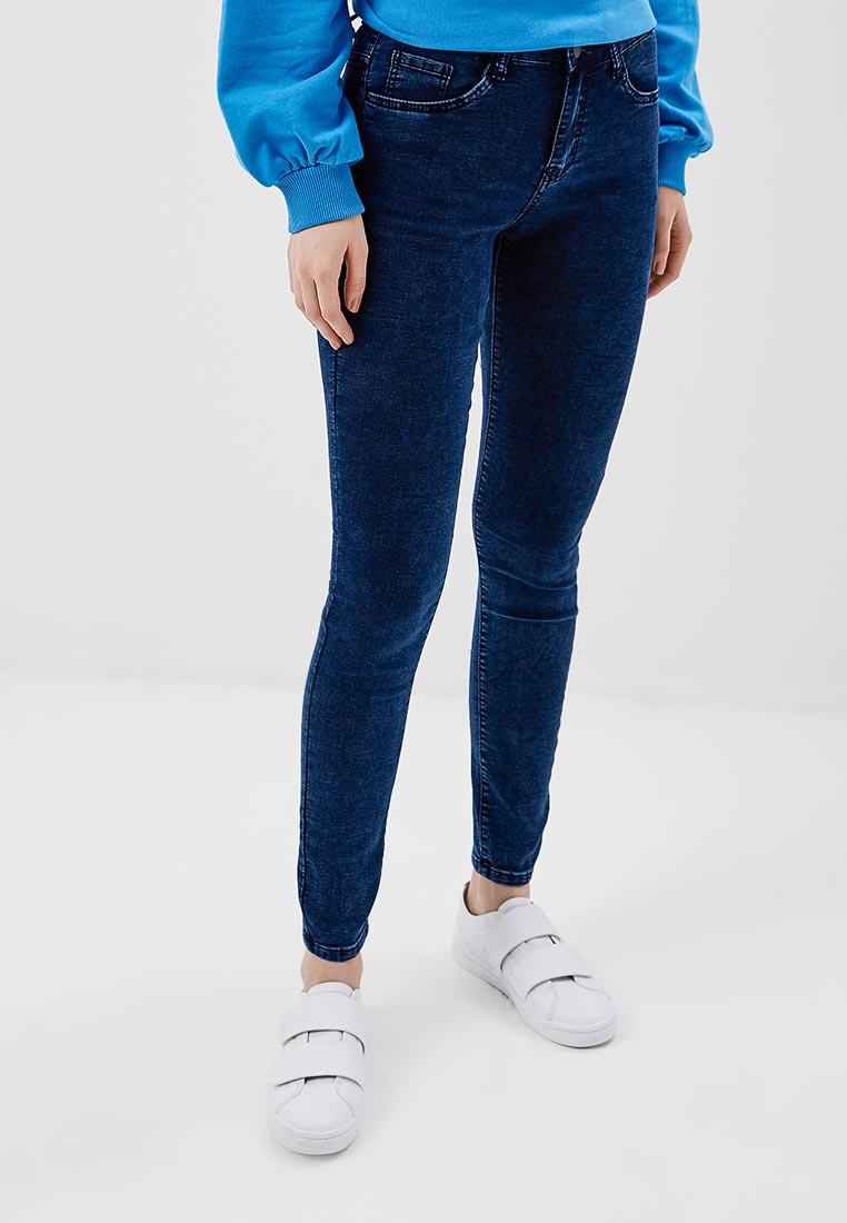 Зауженные джинсы Kiss Pink B002-F029-4