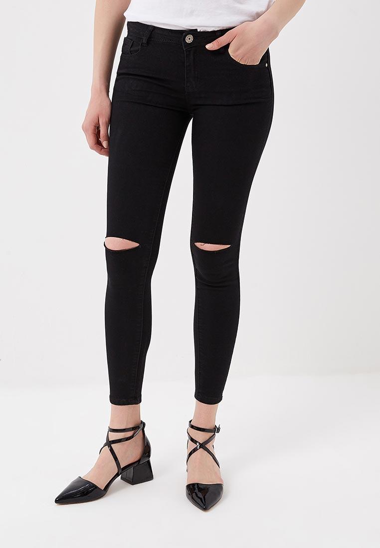 Зауженные джинсы Kiss Pink B002-LG068