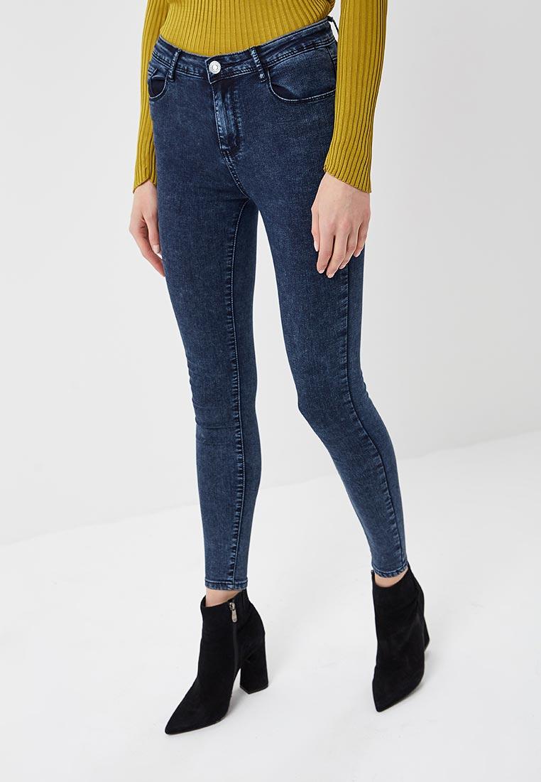 Зауженные джинсы Kiss Pink B002-LG169