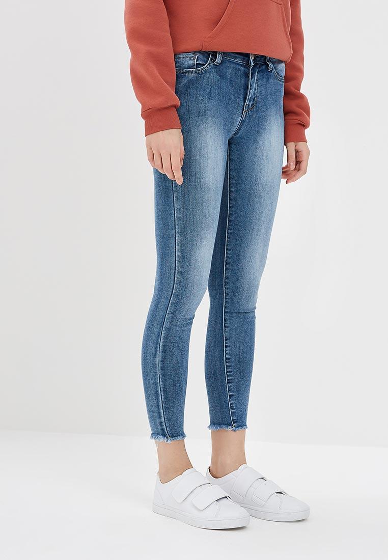 Зауженные джинсы Kiss Pink B002-AF003