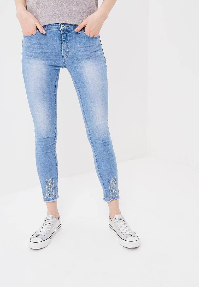 Зауженные джинсы Kiss Pink B002-AF011