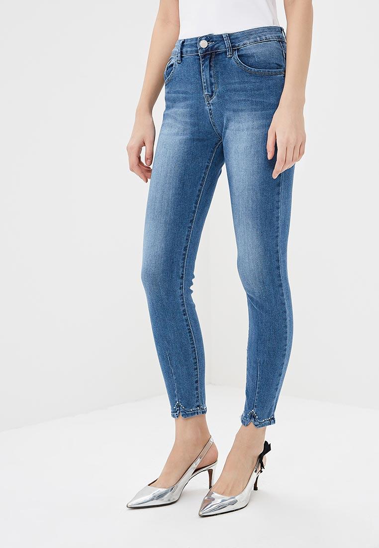 Зауженные джинсы Kiss Pink B002-AF013