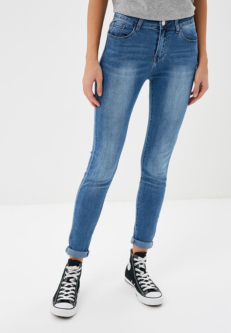 Зауженные джинсы Kiss Pink B002-AF018