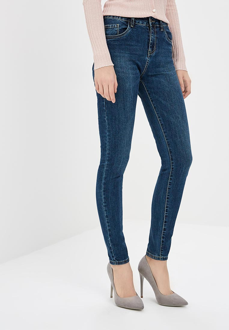 Зауженные джинсы Kiss Pink B002-AF112