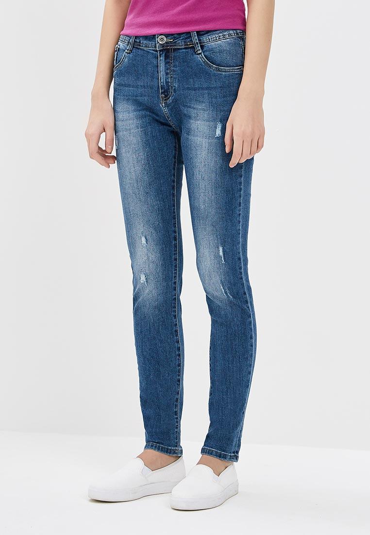 Зауженные джинсы Kiss Pink B002-BH6864