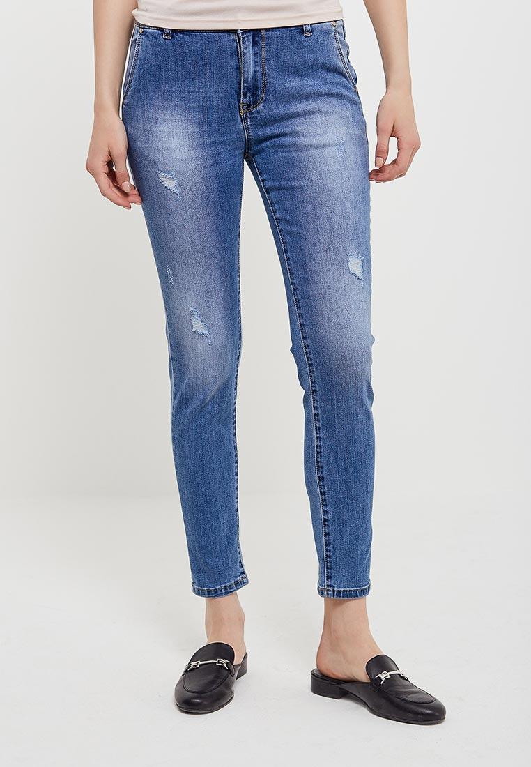 Зауженные джинсы Kiss Pink B002-BH6869